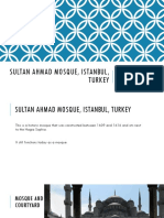 Sultan Ahmad Mosque, Istanbul, Turkey