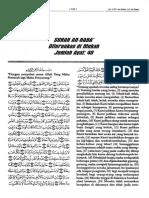 Terjemahan Tafsir Fi Zhilalil Oleh sayyid Qutb  Surah an Naba