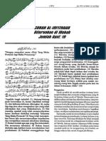 Terjemahan Tafsir Fi Zhilalil Oleh sayyid Qutb  Surah Al Infithar