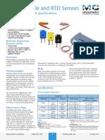 TC RTD Sensor Data