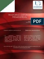 Trastorno Disfórico premenstrual.pptx