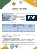 Guía de actividades y rúbrica de evaluación-Tarea 4- Discurso
