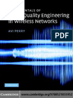 Dr Avi Perry-Fundamentals of Voice-Quality Engineering in Wireless Networks-Cambridge University Press (2007)