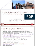 10 Cultural Heritage Shrestha EERI 2015 Nepal EQ Briefing 2015-07-22