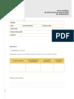 Ficha Deteccion Dificultades de Aprendizaje