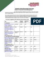 FIN CompanyValuationDCF