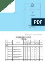 B.E(ECE) I and II Semesters Scheme and Syllabus (1)