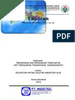 COVER LAPORAN PENDAHULUAN UPT RAMASINGFUI ALOR (Itec) edit.doc