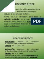 VALORACIONES REDOX