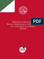 III Jornadas Doctorado UMU 2018