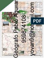 Mapa Topográfico al Santuario de Chapi