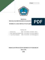Proposal Kbmi 2018