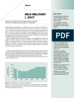 SIPRI - TRENDS IN WORLD MILITARY  EXPENDITURE, 2017