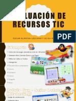 Evaluación de 2 recursos TIC