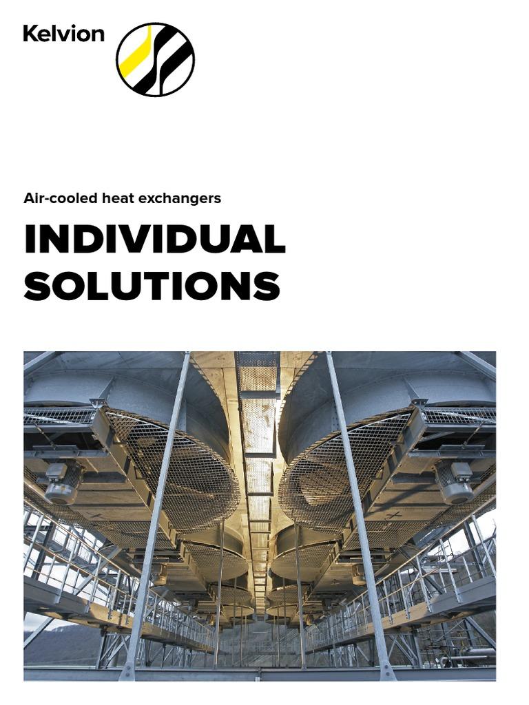 Kelvion-E-LUFTGEKUEHLTE-WT-310316 pdf | Heat Exchanger