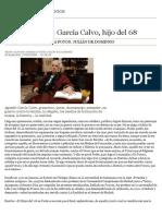 «No al Futuro» García Calvo, hijo del 68 | Domingos | Domingos - Abc.es