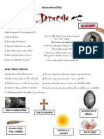 Prep 3 - Dracula Presentation (Student's Worksheet and Teacher's Notes)