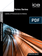 Liability of Professionals for Defects PDF