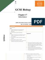 IGCSE Biology Chapter 17