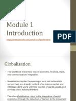 Module 1- IB