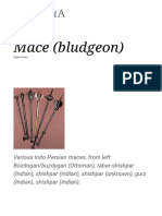 Mace (Bludgeon) - Wikipedia