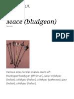 Mace (Bludgeon) - Wikipedia