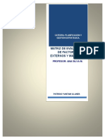Principios Básicos de Planificación Estratégica