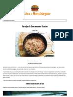 Farofa de Bacon Com Neston - Receitas Lanches-Hambúrguer