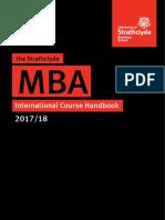 Int MBA Handbook 17-18