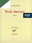 Starobinski, Jean - Les Trois Fureurs