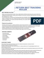 (New)-Rulmeca Return Belt Tracking Brochure