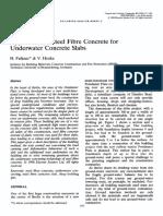 3-Potsdamer Platz Raft Slab Project Journal Paper - Application of Steel Fibre Concrete for Underwater Concrete Slabs