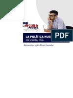Cuaderno 06 - La Politica Nuestra de Cada Dia. Entrevista a Julio Cesar Guanche (CubaPosible)