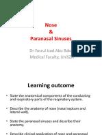 Nose & Paranasal Sinuses 2018
