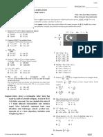 Maths F4 Final Year Examination 17