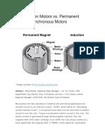 AC Induction Motors vs. Permanent Magnet Synchronous Motors