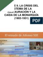 BLOQUE 9 REINADO ALFONSO XIII.ppt