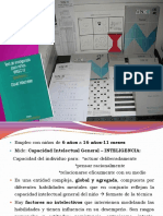 WISC III- Puntuacion y Analisis
