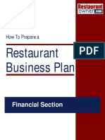 Business Finance Plan