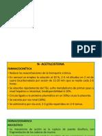 n - Acetilcisteína