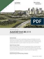 Brochure Civil 3D 2018 Macrotec 2018