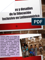 Avances y Desfios de La Educacion Inclusiva en Latinoamerica