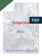 2 Earth quake Wa ves