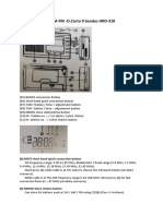 Manual Instrucciones Radio Bolsillo AM