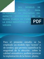 Modelo de Dispersion -Screen