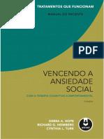Vencendo a Ansiedade-social Com a TCC PDF