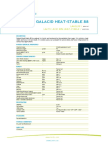 Ficha Tecnica Ácido Láctico -Galacid Heat-stable 88