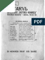 Anuarul Liceului Petru Rares_1934-1935