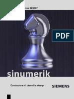 Sinumerik - Lavorazione Stampi