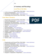 Essentials of Anatomy and Physiology  - Lecture Notes, Study Material and Important Questions, Answers